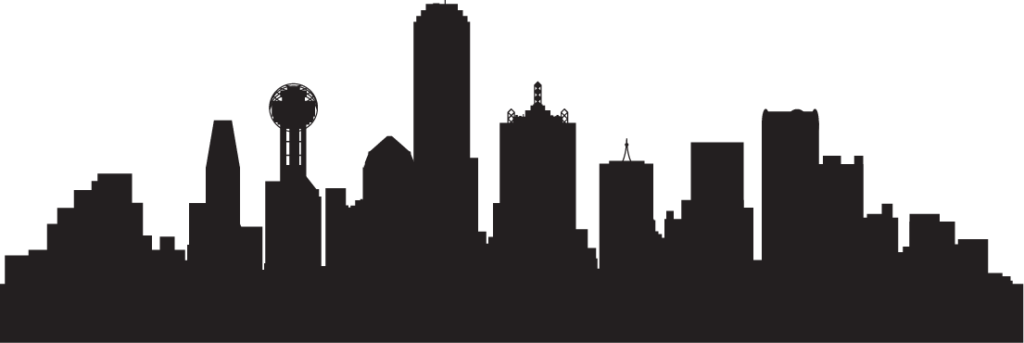 Locations Dallas Skyline - One of TeraCloud's Office Locations