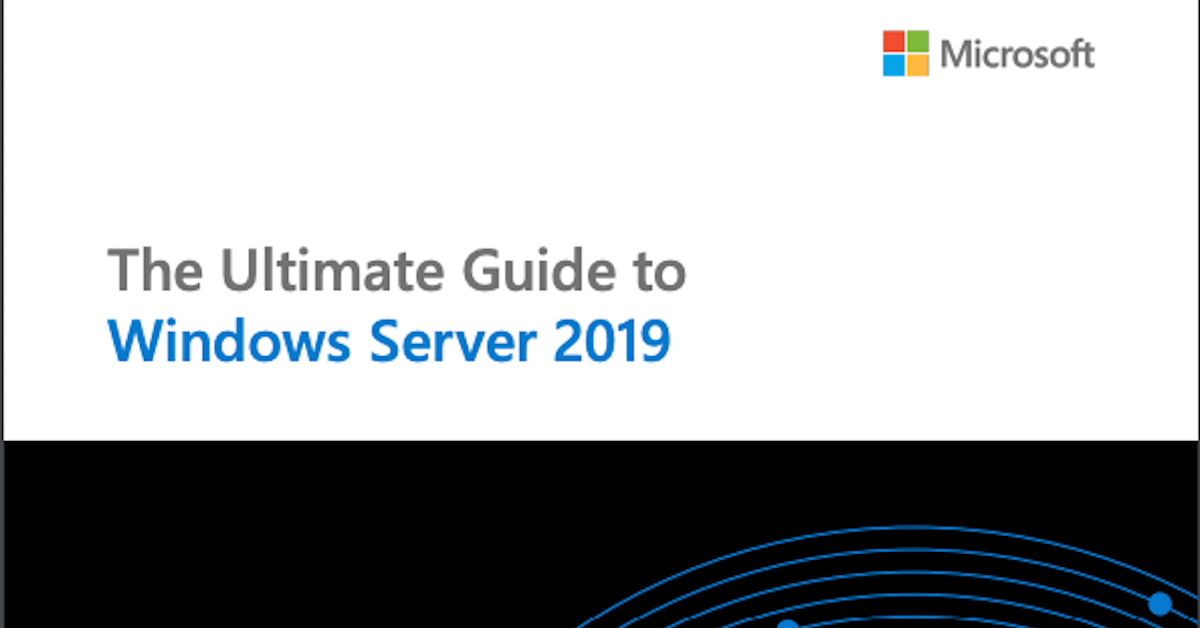 Windows Server 2019 - TeraCloud Full-Service Managed IT Services, Cloud Services and IT Security