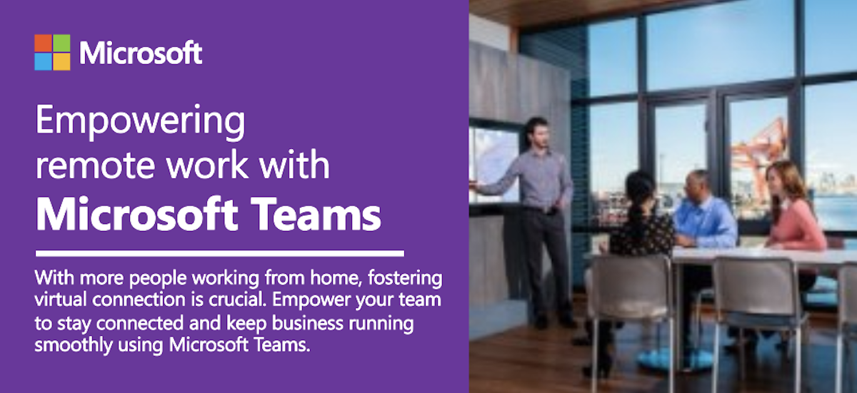 Microsoft Teams screenshot - TeraCloud Managed IT Services and Cloud Services
