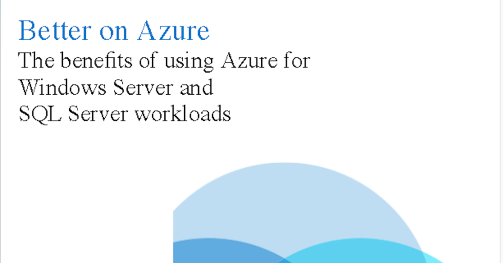 Azure Infographic - TeraCloud Full Service Managed IT